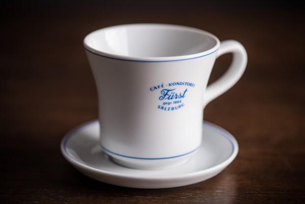 """Porzellan-Set """"Fürst"""" Cappuccino"""