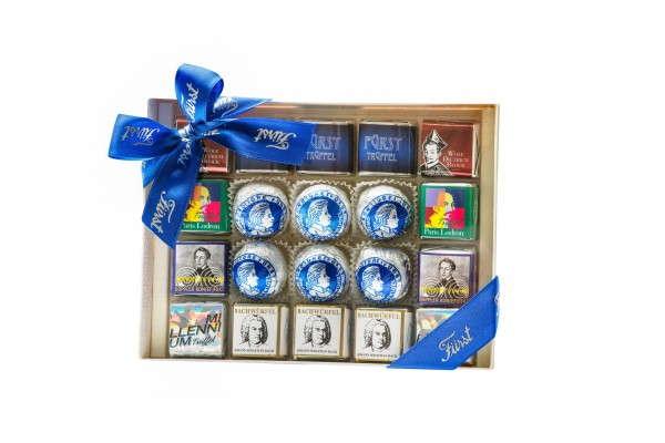 Assorted house specialities gift box, 20 pcs